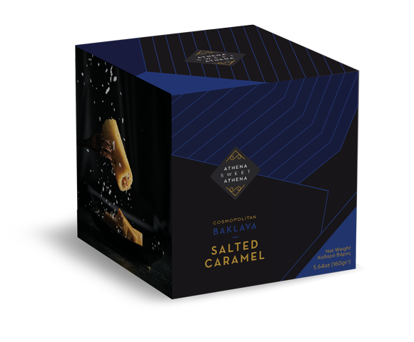 Salted caramel product photo